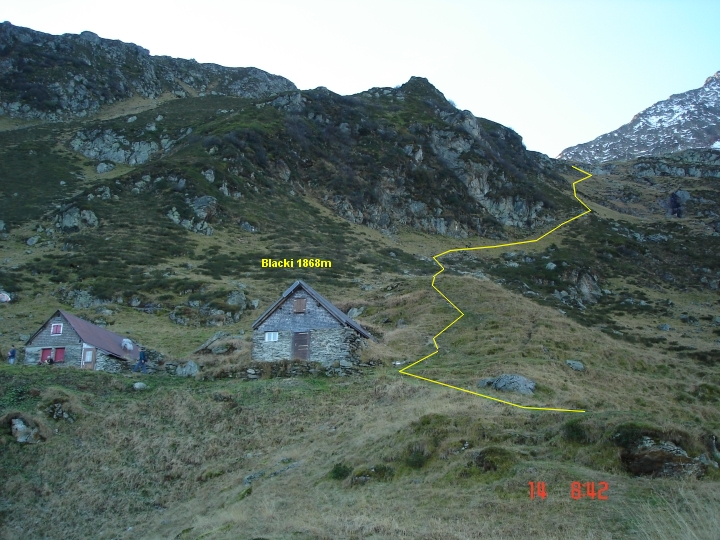 Foto Hütte im Blacki