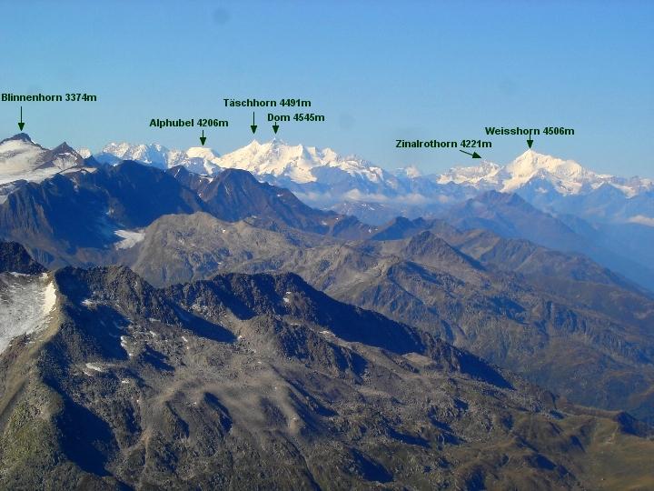 02 September  Hochtour Gross Muttenhorn 3099m ~ und Bergtour Klein Furkahorn 3026m    DSC00021 JPG