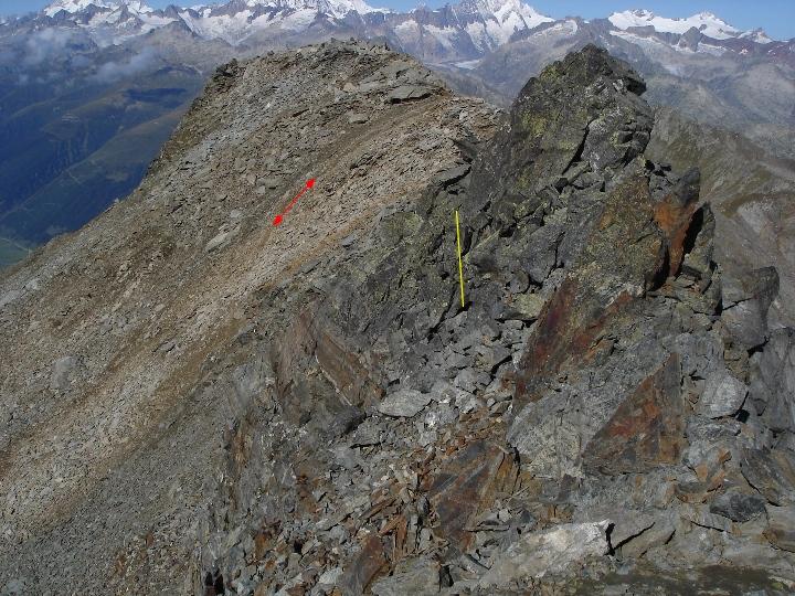 02 September  Hochtour Gross Muttenhorn 3099m ~ und Bergtour Klein Furkahorn 3026m    DSC00035 JPG