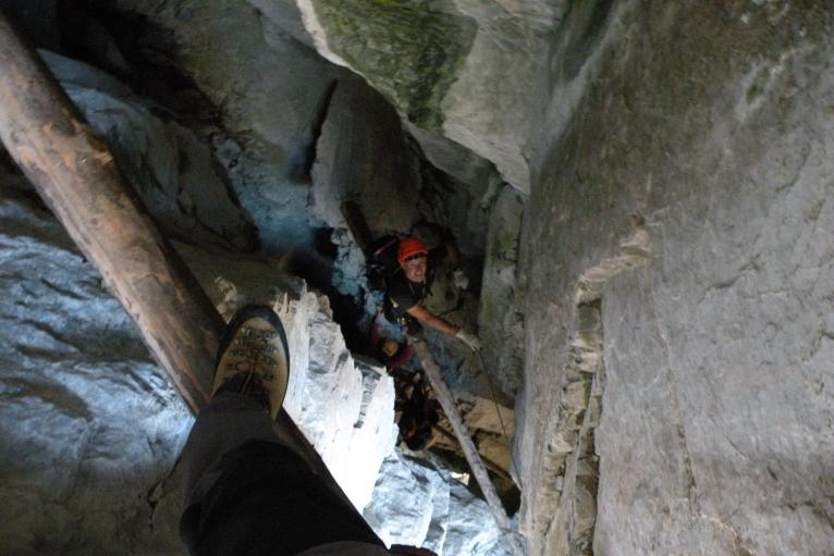 Hexensteig Klettersteig : Hexensteig bergsteigen