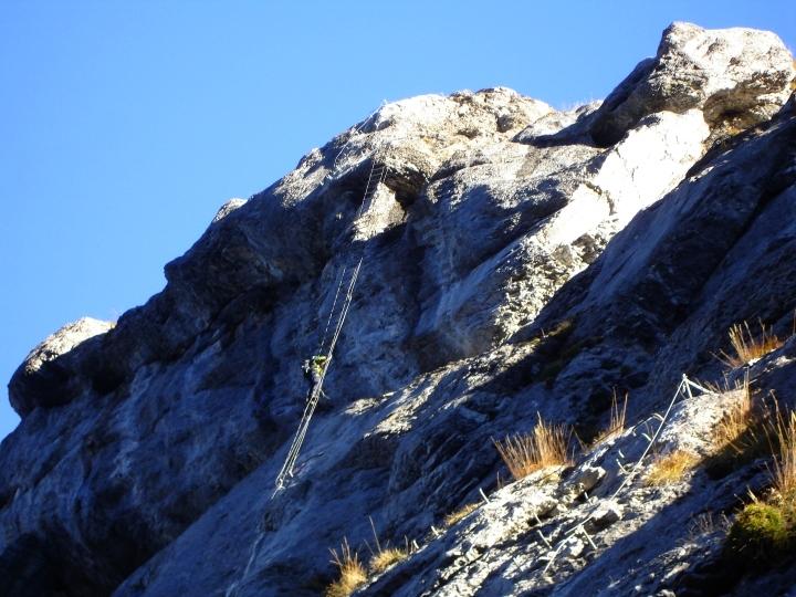 Klettersteig Fürenwand : 20.oktober: klettersteig ~ fürenwand fürenhochflue