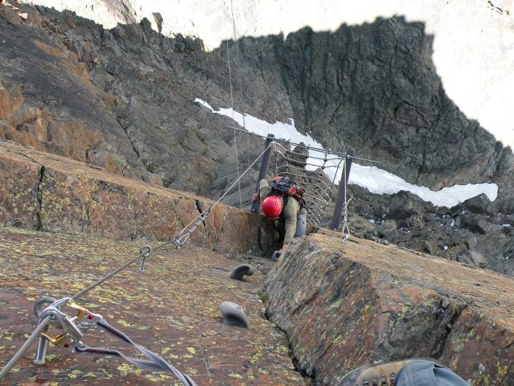 Klettersteig Jegihorn : 20.juli 2009 klettersteig ~ jegihorn 3206m
