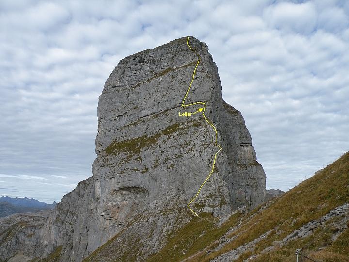 Klettersteig Braunwald : 05.oktober 2009 klettersteig ~ eggstock bei braunwald