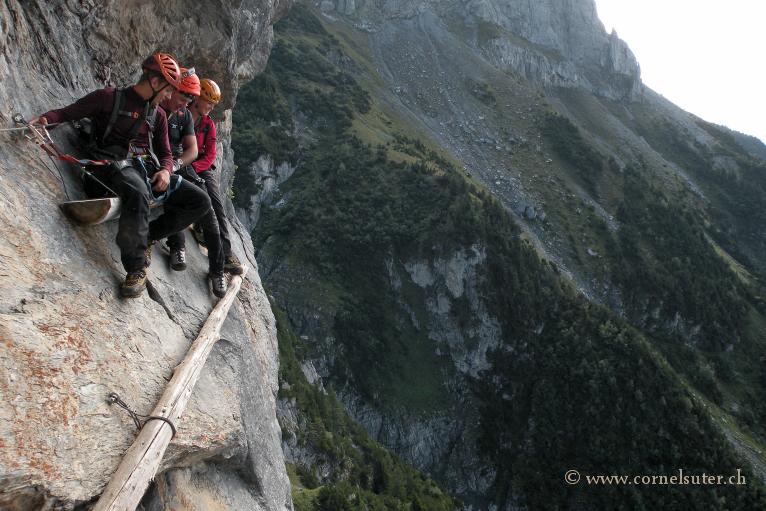 Hexensteig Klettersteig : Bergsteigen klettersteig